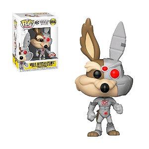 Boneco Wile E. Coyote As Cyborg 866 DC Looney Tunes (Special Edition) - Funko Pop!