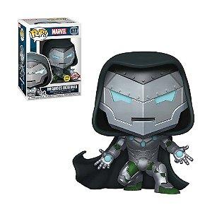 Boneco Infamous Iron Man 677 Marvel (Glows In The Dark Special Edition) - Funko Pop!
