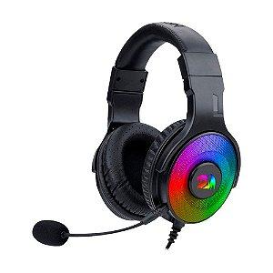 Headset Gamer Redragon Pandora 2 Preto RGB H350RGB-1 com fio - PC