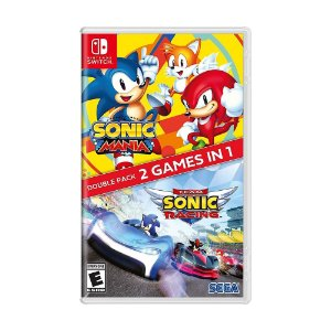 Jogo Sonic Mania + Team Sonic Racing (Double Pack 2 Games In 1) - Switch
