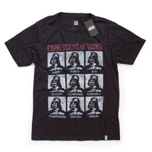 Camiseta Studio Geek Expressions of Vader Star Wars - Modelo 18