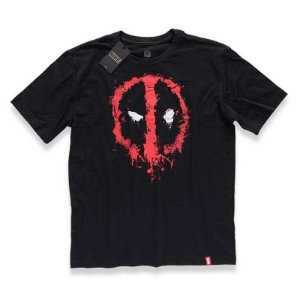 Camiseta Studio Geek Deadpool Mask Marvel - Modelo 1