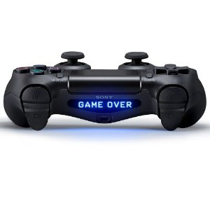 Adesivo para Light Bar Game Over - Dualshock 4
