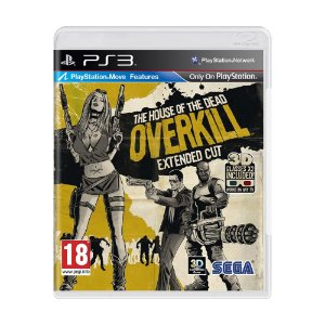 Jogo The House of the Dead: Overkill (Extended Cut) - PS3