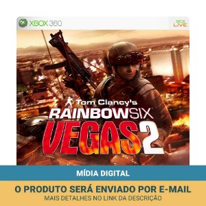 Jogo Tom Clancy's Rainbow Six: Vegas 2 (Mídia Digital) - Xbox 360 e Xbox One
