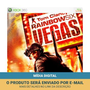 Jogo Tom Clancy's Rainbow Six: Vegas (Mídia Digital) - Xbox 360 e Xbox One