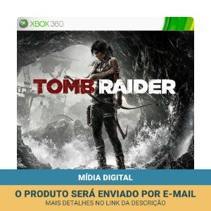 Jogo Tomb Raider (Mídia Digital) - Xbox 360