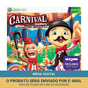 Jogo Carnival Games: Monkey See Monkey Do (Mídia Digital) - Xbox 360