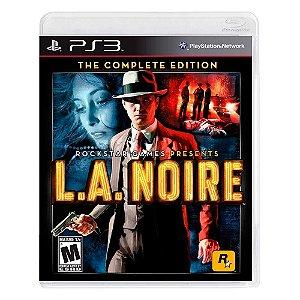 Jogo L.A. Noire (Complete Edition) - PS3