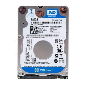 HD de Notebook Western Digital WD5000LPVX 8MB SATA3