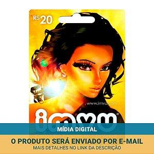 Cartão Presente Imvu R$20