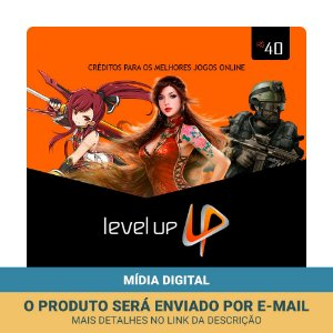 Cartão Presente Level Up R$40