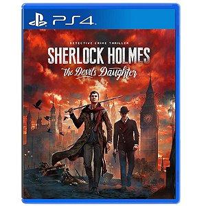 Jogo Sherlock Holmes: The Devil's Daughter - PS4