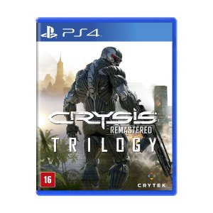 Jogo Crysis Remastered Trilogy - PS4