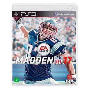 Jogo Madden NFL 17 - PS3