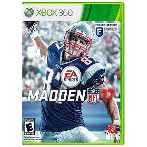 Jogo Madden NFL 17 - Xbox 360