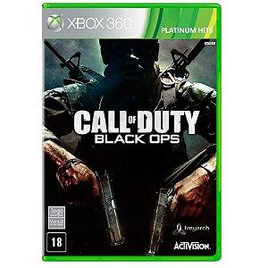 Jogo Call of Duty: Black Ops - Xbox 360