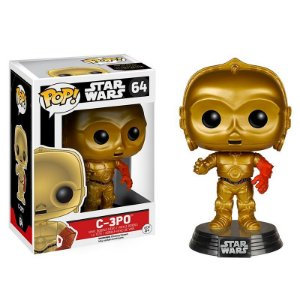 Boneco C-3PO Star Wars 64 - Funko Pop