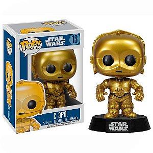 Boneco C-3PO Star Wars - Funko Pop