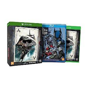 Jogo Batman: Return to Arkham + Blu-Ray Batman: Assalto em Arkham - Xbox One