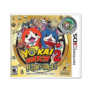 Jogo YO-Kai Watch 2: Fleshy Souls - 3DS