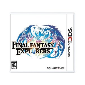Jogo Final Fantasy Explorers - 3DS