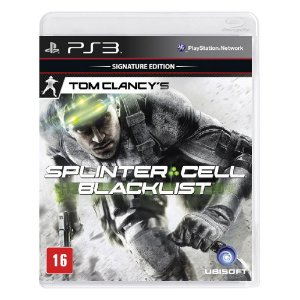 Jogo Tom Clancy's Splinter Cell: Blacklist (Signature Edition) - PS3