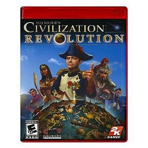 Jogo Sid Meier's Civilization Revolution - PS3