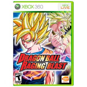 Jogo Dragon Ball: Raging Blast - Xbox 360