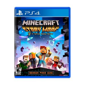 Jogo Minecraft: Story Mode (Season Pass) - PS4