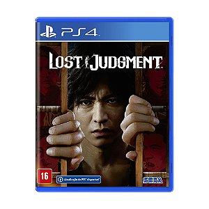 Jogo Lost Judgment - PS4
