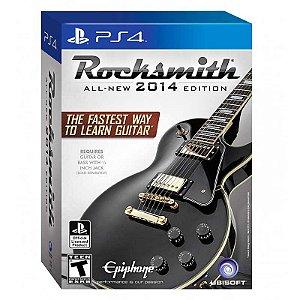Jogo Rocksmith 2014 (Edição com Cabo) - PS4