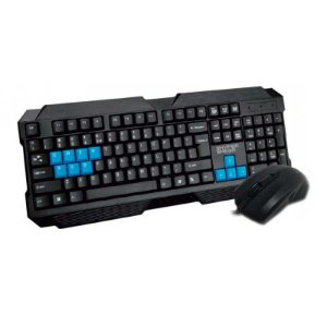 Kit Teclado e Mouse Hyper Mega Gamer Evolution HM888 E-Sports USB - PC