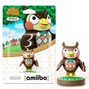 Nintendo Amiibo: Blathers - Animal Crossing - Wii U e New Nintendo 3DS