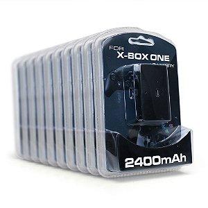 Kit Baterias e carregadores para controle Battery Pack 2400mAh OEM (10 Unidades) - Xbox One