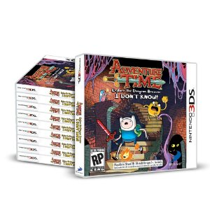 Kit Jogos Adventure Time: Explore the Dungeon Because I Don't Know (10 Unidades) - 3DS
