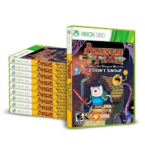 Kit Jogos Adventure Time: Explore the Dungeon Because I Don't Know (10 unidades) - Xbox 360