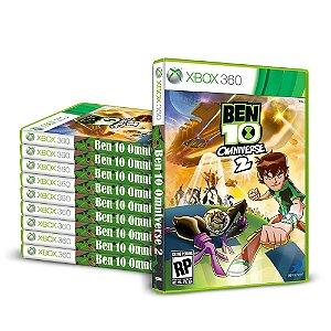 Kit Jogos Ben 10: Omniverse 2 (10 Unidades) - Xbox 360