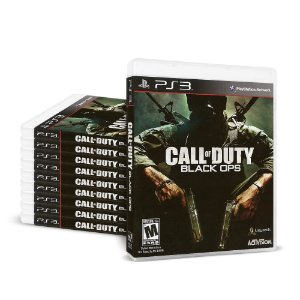 Kit Jogos Call of Duty: Black Ops (10 Unidades) - PS3