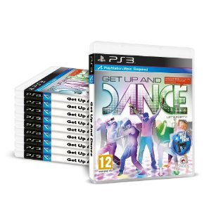 Kit Jogos Get Up And Dance (10 unidades) - PS3