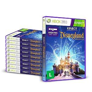 Kit Jogos Kinect Disneyland Adventures (10 Unidades) - Xbox 360