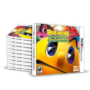 Kit Jogos Pac-man y Las Aventuras Fasntasmales (10 Unidades) - 3DS