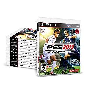 Kit Jogos Pro Evolution Soccer 2013 (PES 13) - (10 Unidades) - PS3