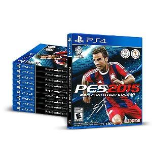 Kit Jogos Pro Evolution Soccer 2015 (PES 15) - (10 Unidades) - PS4