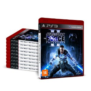 Kit Jogos Star Wars: The Force Unleashed II (10 unidades) - PS3