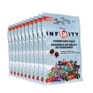 Kit Power Disc Pack Disney Infinity: Series 1 (10 unidades) - Multiplataforma