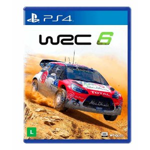 Jogo WRC 6: FIA World Rally Championship - PS4
