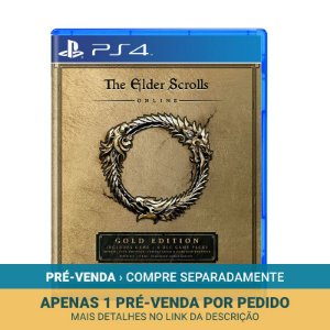 Jogo The Elder Scrolls Online: Gold Edition - PS4
