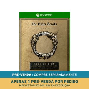 Jogo The Elder Scrolls Online: Gold Edition - Xbox One