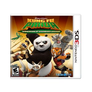Jogo Kung Fu Panda: Showndown of Legendary Legends - 3DS